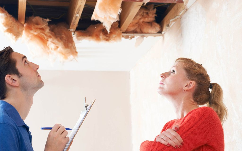 Water damage restoration cost