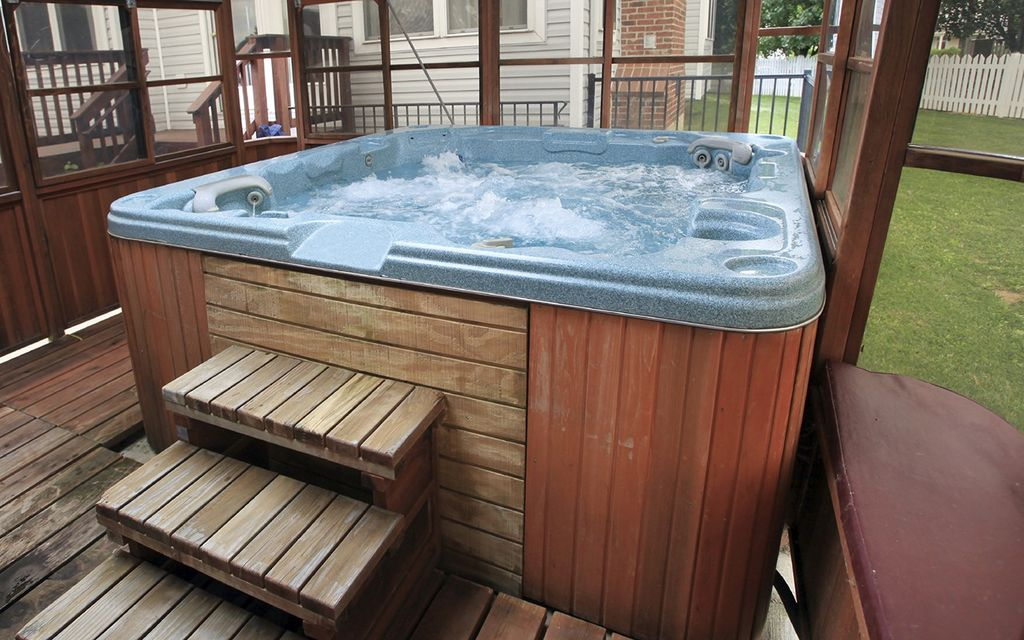 Hot tub cost per month