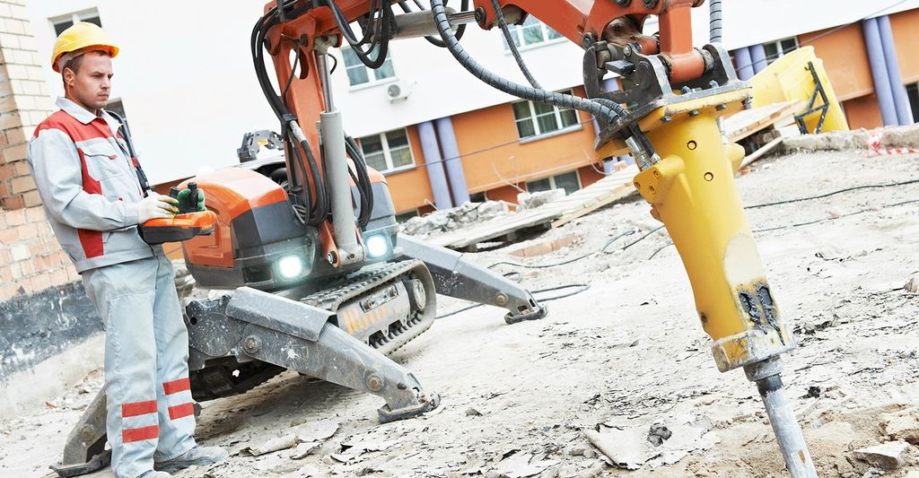 A concrete removal professional in Gresham, OR