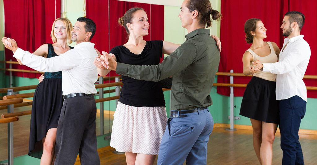 A ballroom dance instructor in Naperville, IL