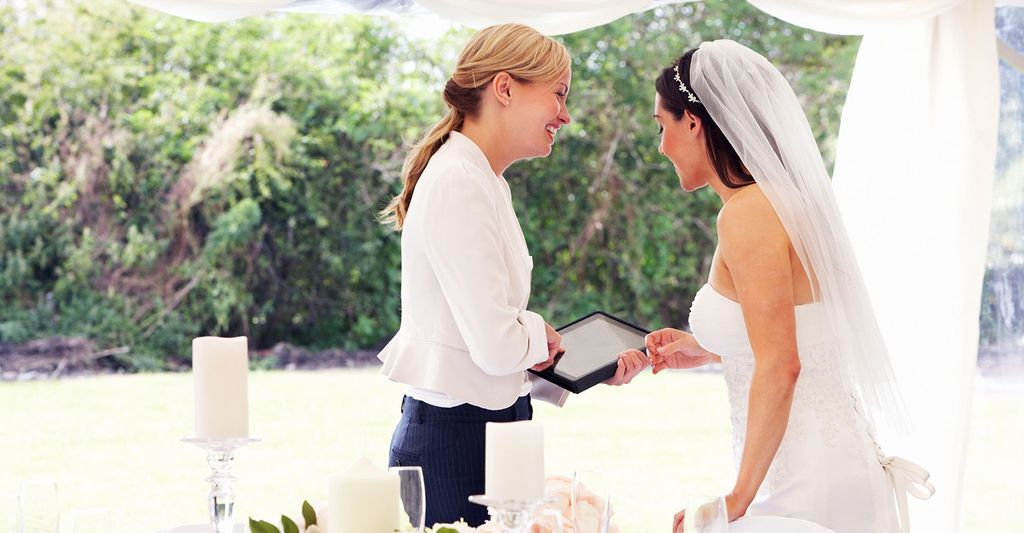 A bridal consultant in New Orleans, LA