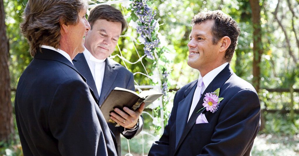 A gay wedding officiant near you
