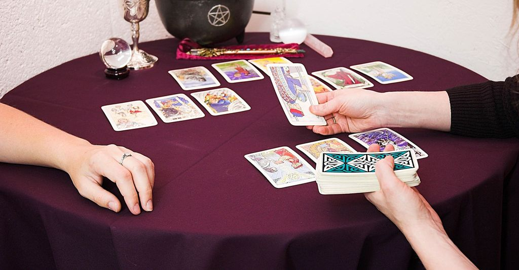 A tarot card reader near you