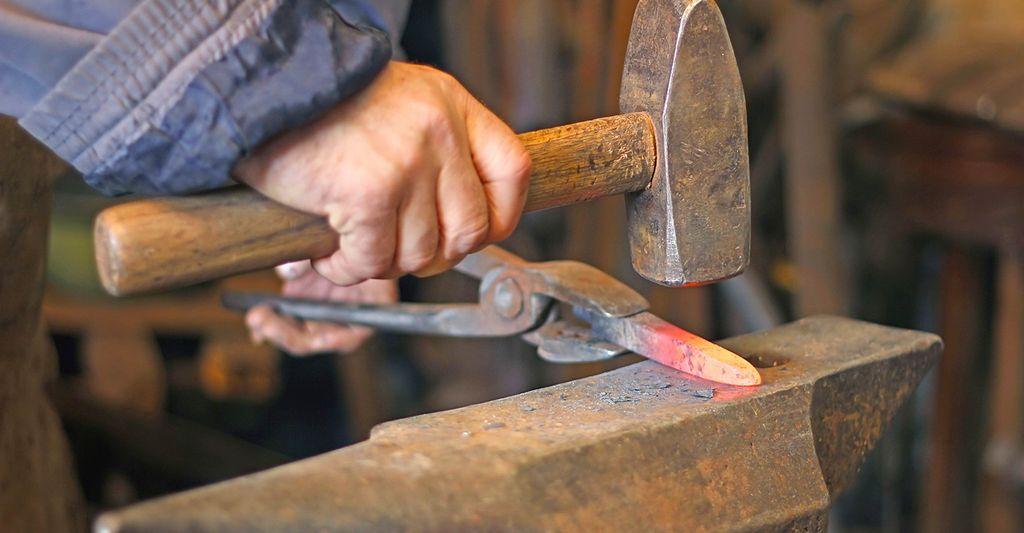 A Blacksmith in San Bernardino, CA