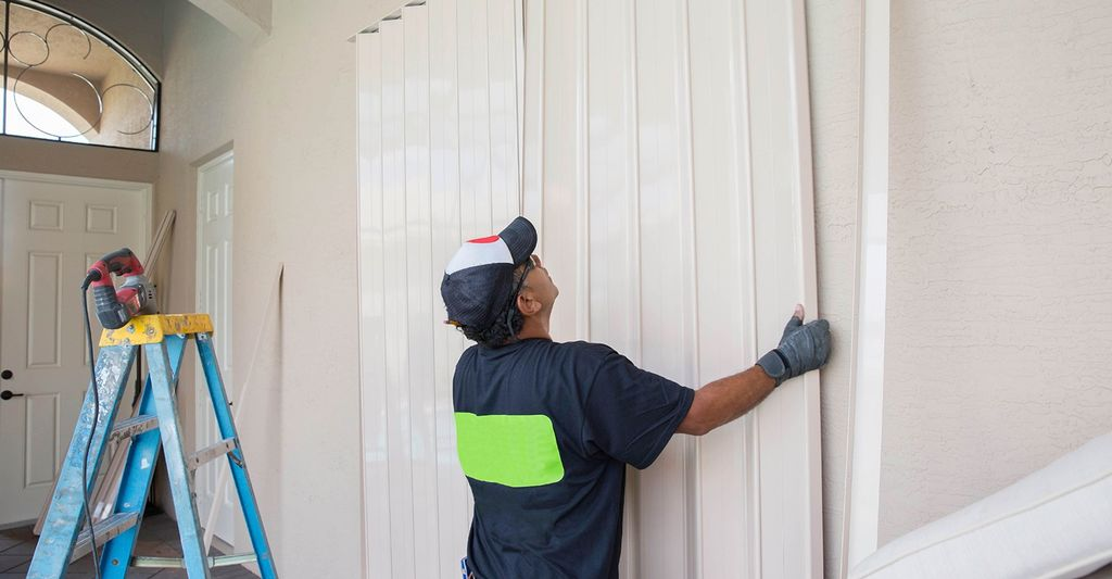 A interior shutter repair professional in Riverside, CA