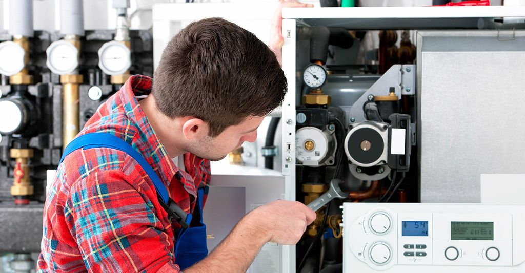 A heat pump installation professional near you