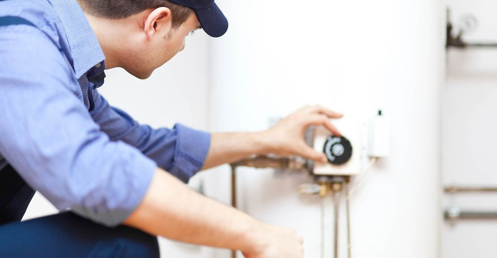 A water heater repair professional in Medford, MA