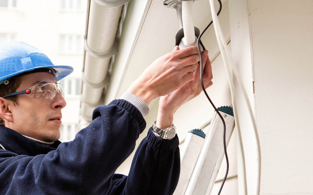 Security camera installation cost