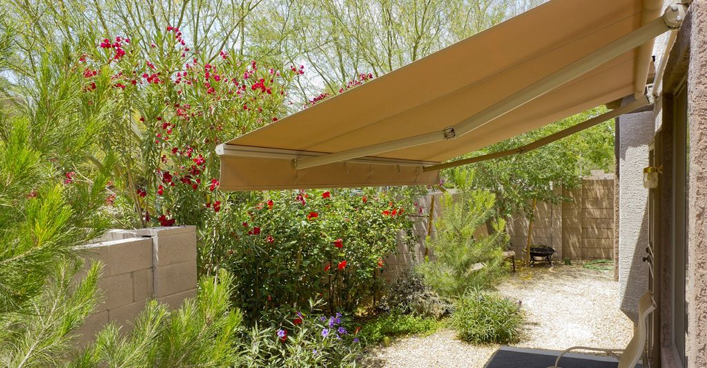 An awning professional in Indio, CA
