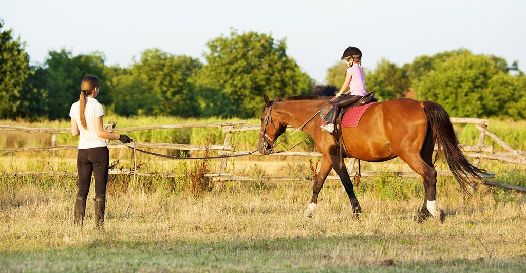 A Horseback Riding Instructor in Grapevine, TX