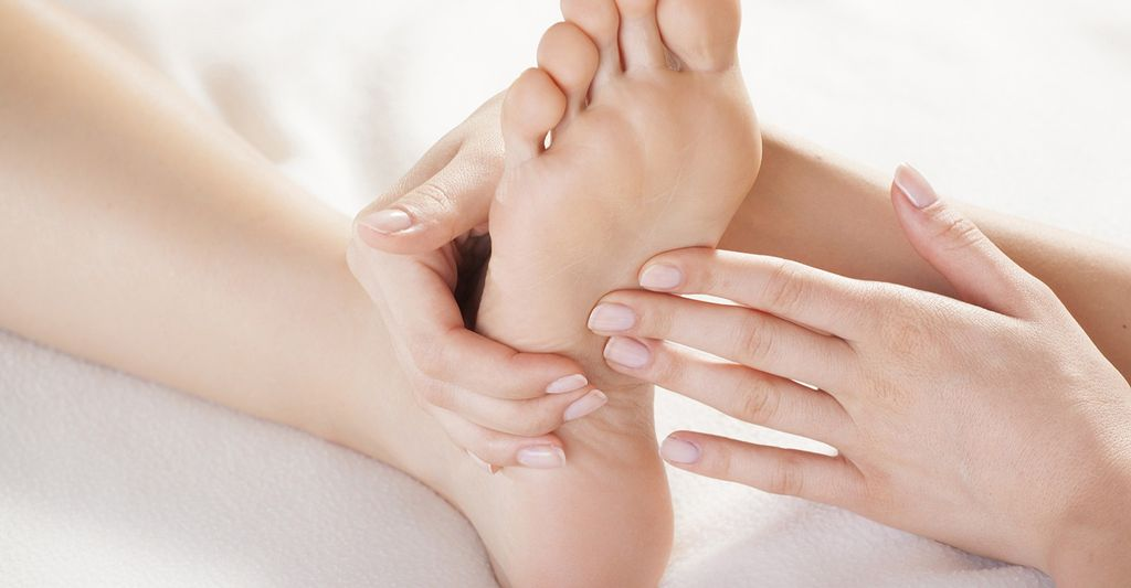 A foot massage therapist in Modesto, CA