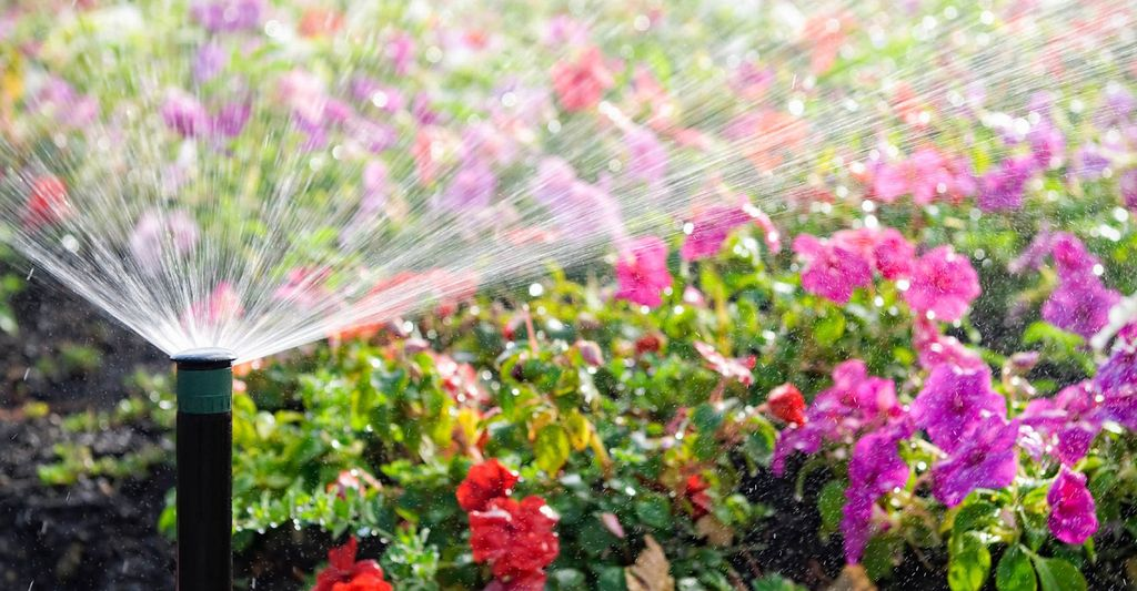 A sprinkler system repair professional in Rowlett, TX