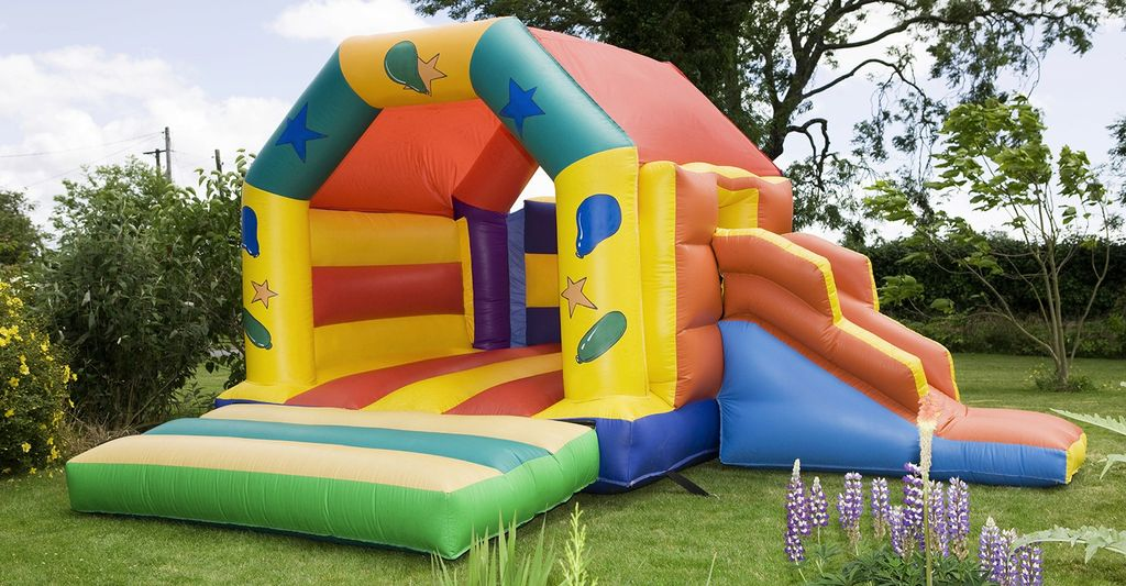 An inflatable bounce house rental in Mineola, NY