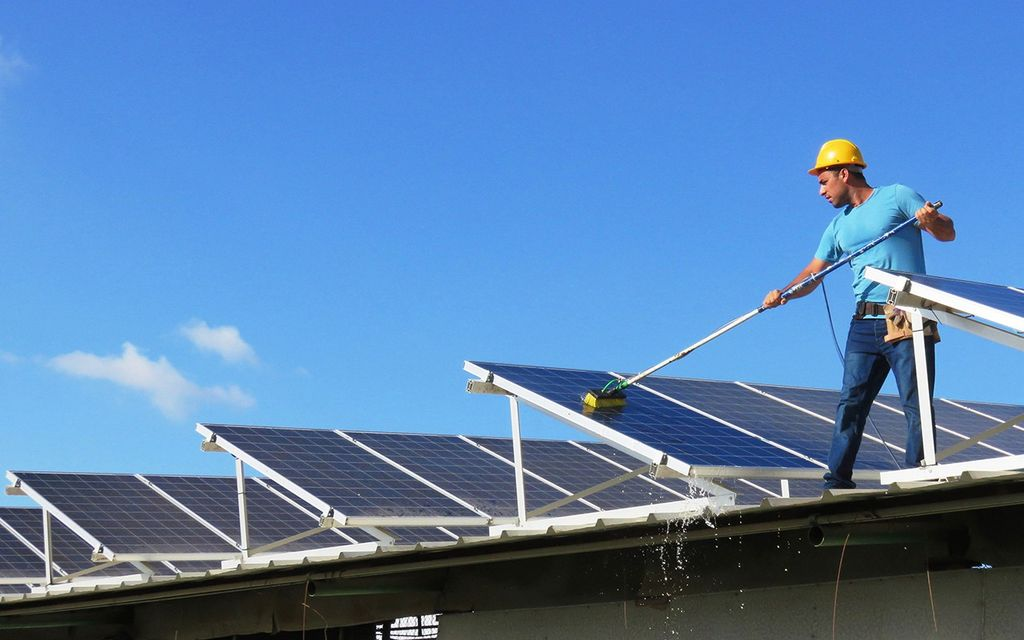 Solar panel cleaning cost