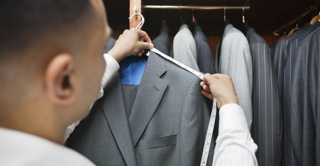 A suit tailor in Alexandria, VA