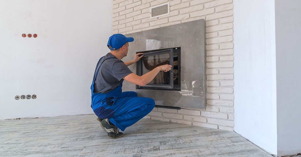 A fireplace inspector in Mount Vernon, NY