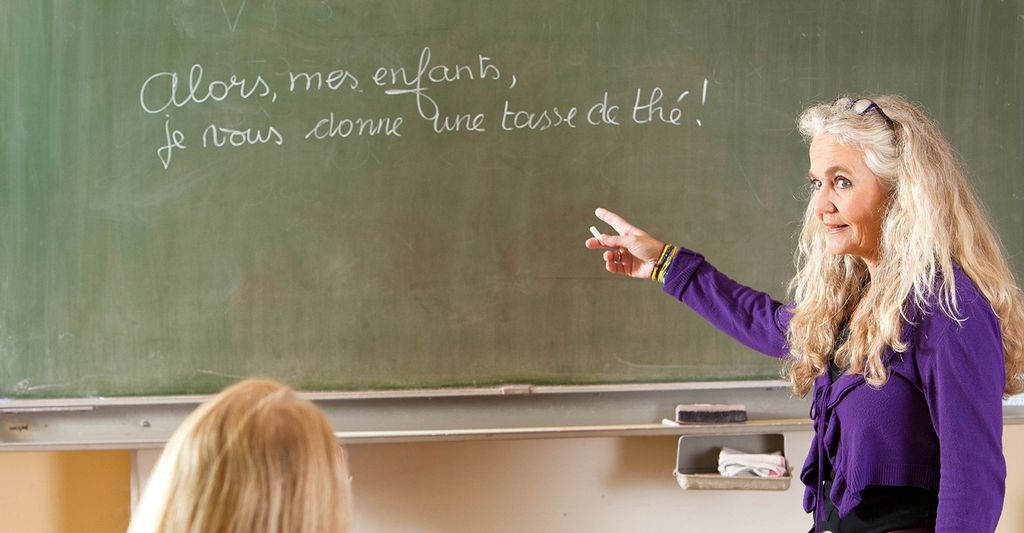 A French language lesson in Novi, MI