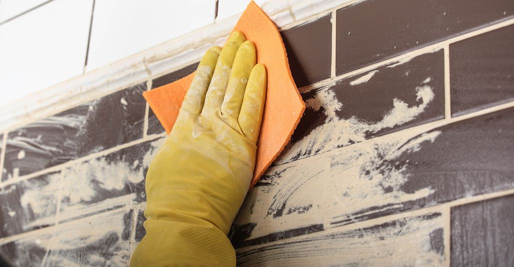 A tile and grout cleaning professional in Greenfield, WI