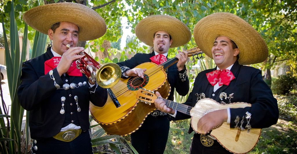 A mariachi band in Mesquite, TX