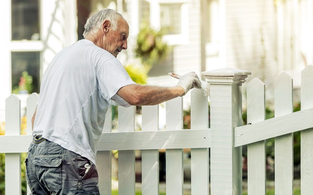 Fence staining cost