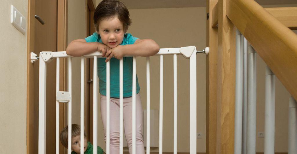 A baby gate installer in San Bernardino, CA