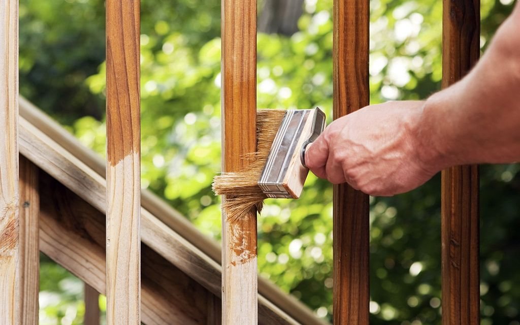 2019 Average Cost To Stain A Deck