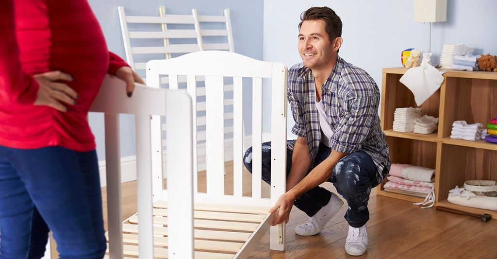 A crib assembler in Mount Vernon, MD