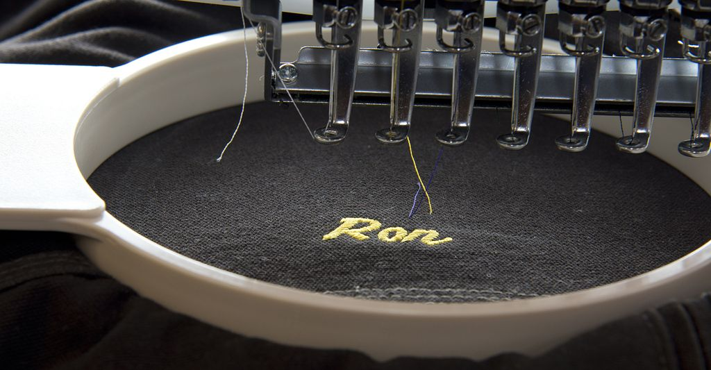 A monogram embroiderer in Aurora, IL