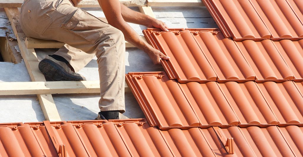 A clay tile roofing contractor in Butler, PA