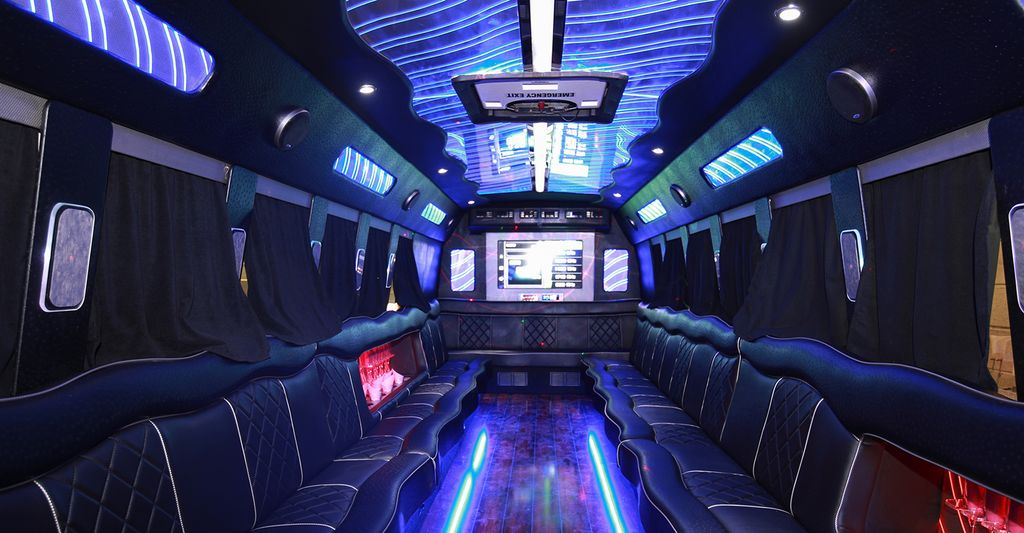 A party bus professional in Eastwood, MD