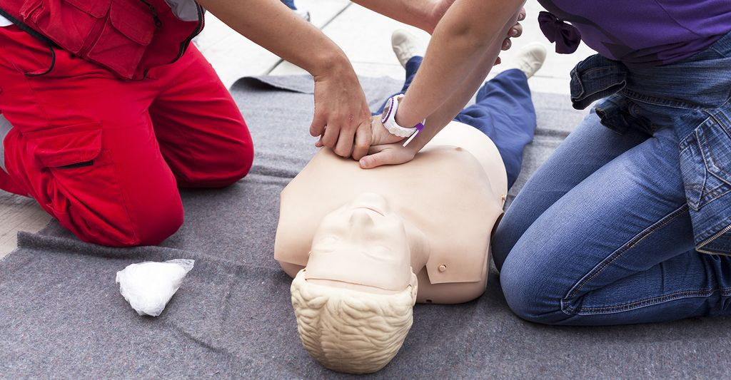 A CPR instructor in Marlborough, MA