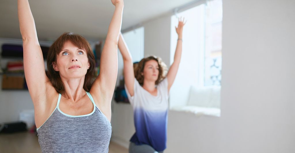 A beginners yoga instructor in Forest Grove, OR