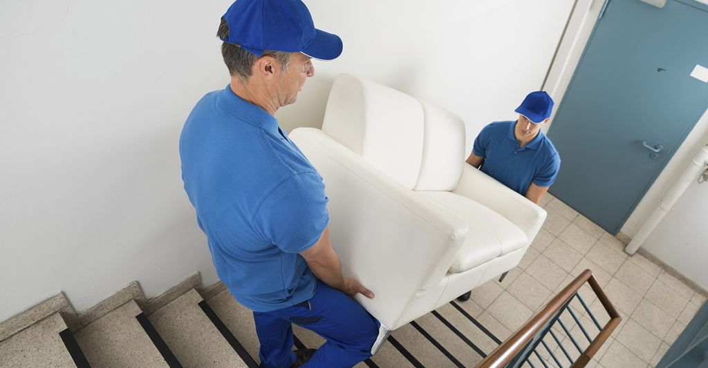 A furniture mover in Irving, TX