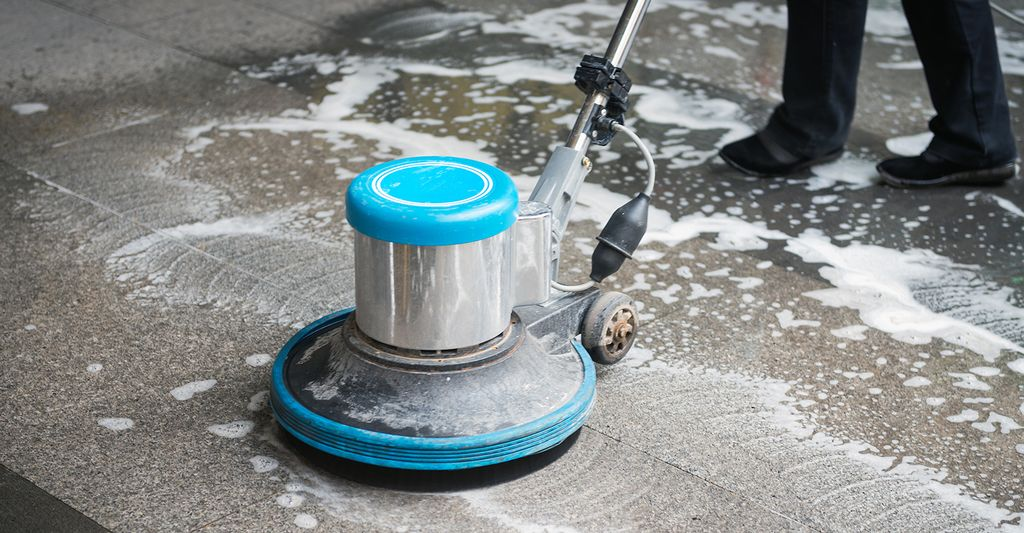 A floor cleaner in Bellevue, WA