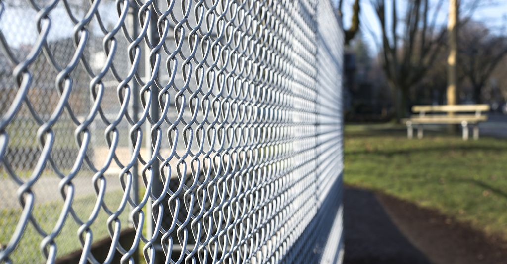 A chain link fencing contractor in Alexandria, VA