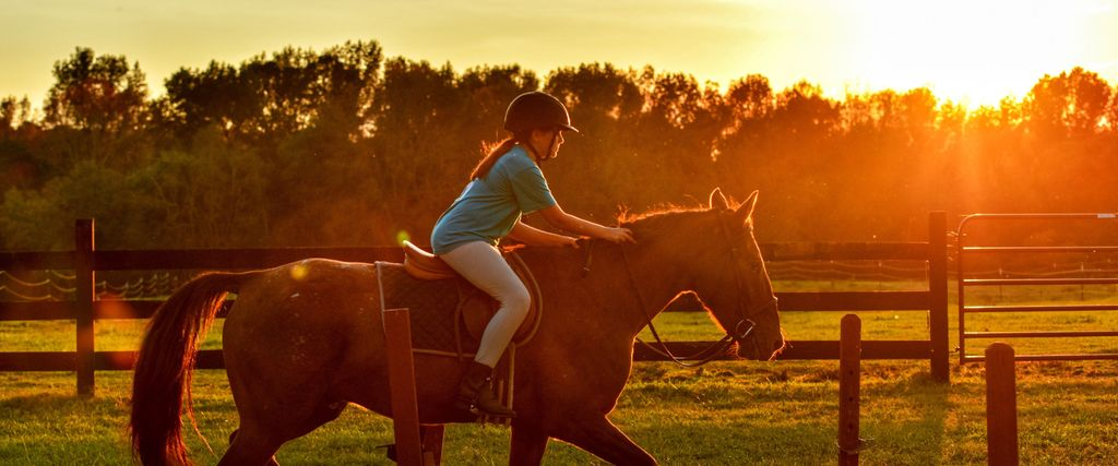 A kids horseback riding service in Murfreesboro, TN
