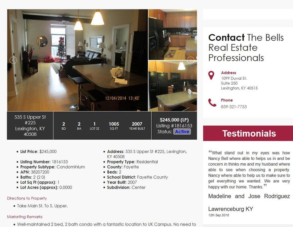 Real Estate IDX Site