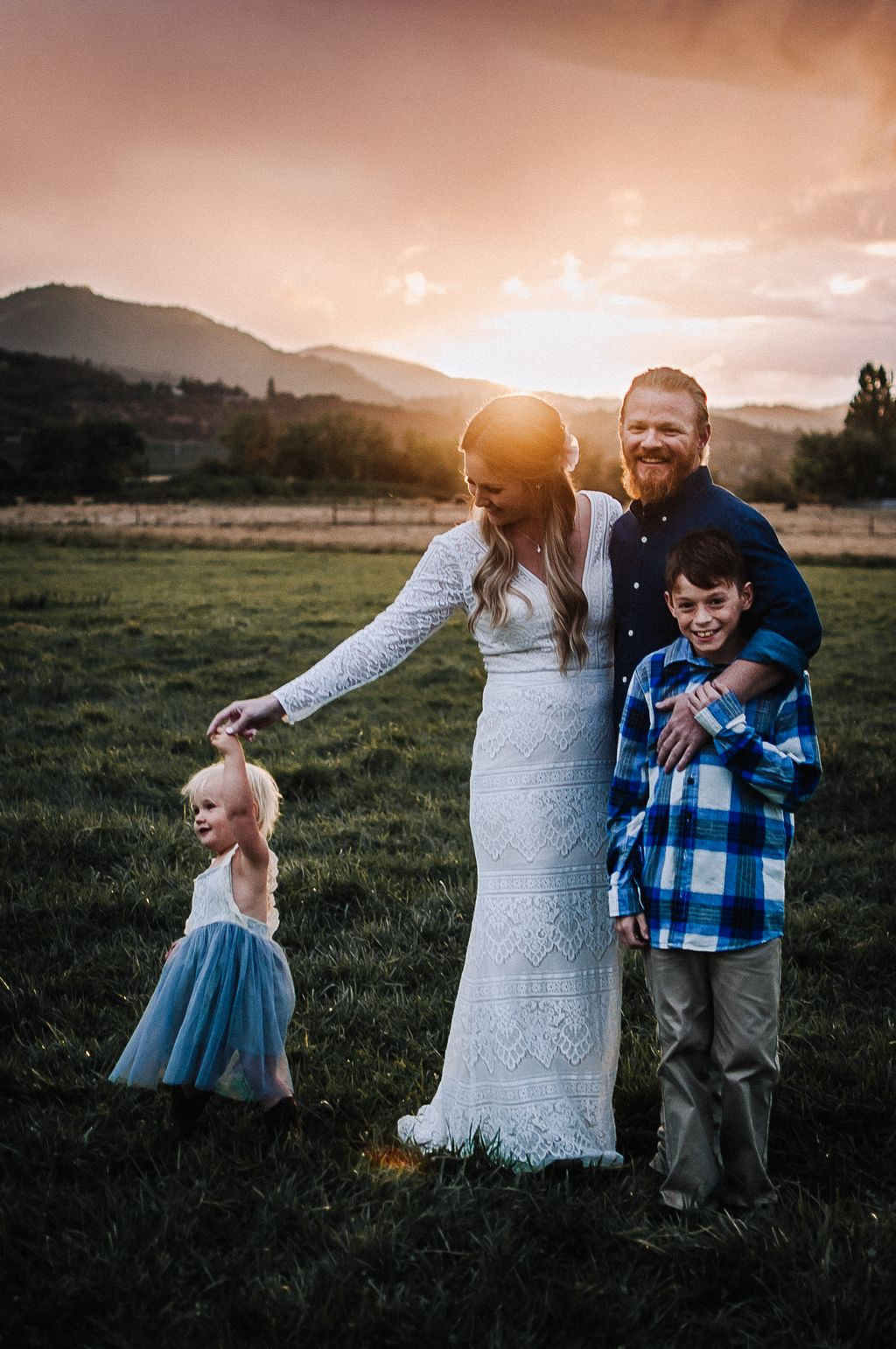Intimate Countryside Wedding