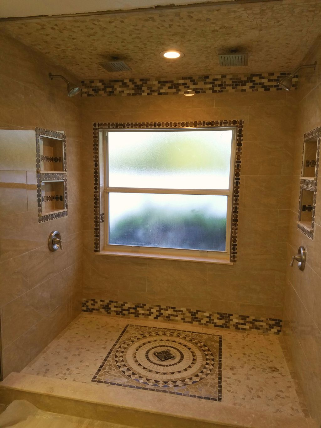 Tub to master shower conversion