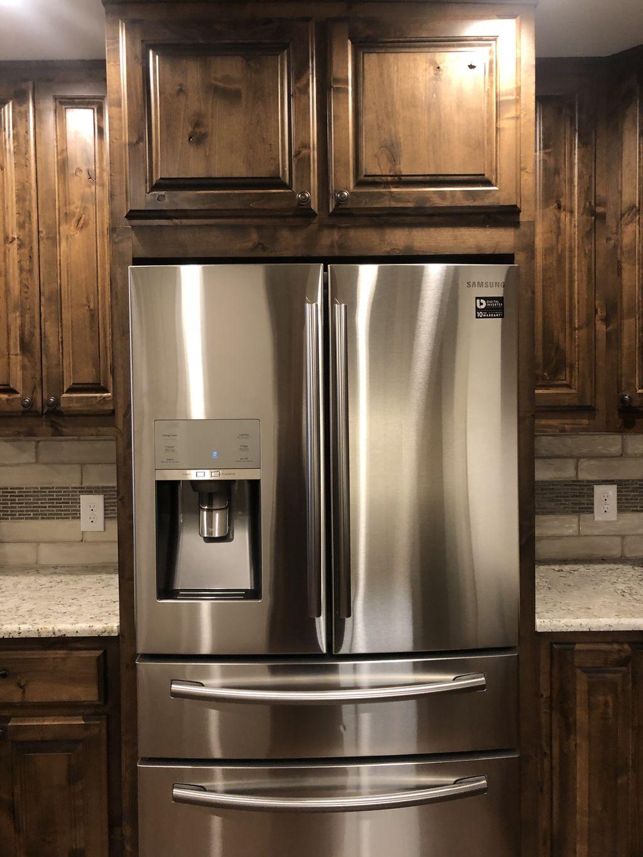 New kitchen installed