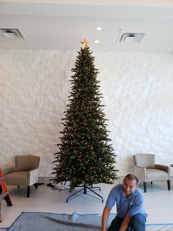 HYATT Place Christmas Tree Install