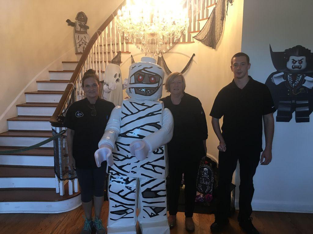 Halloween event for Legolands VIP guests