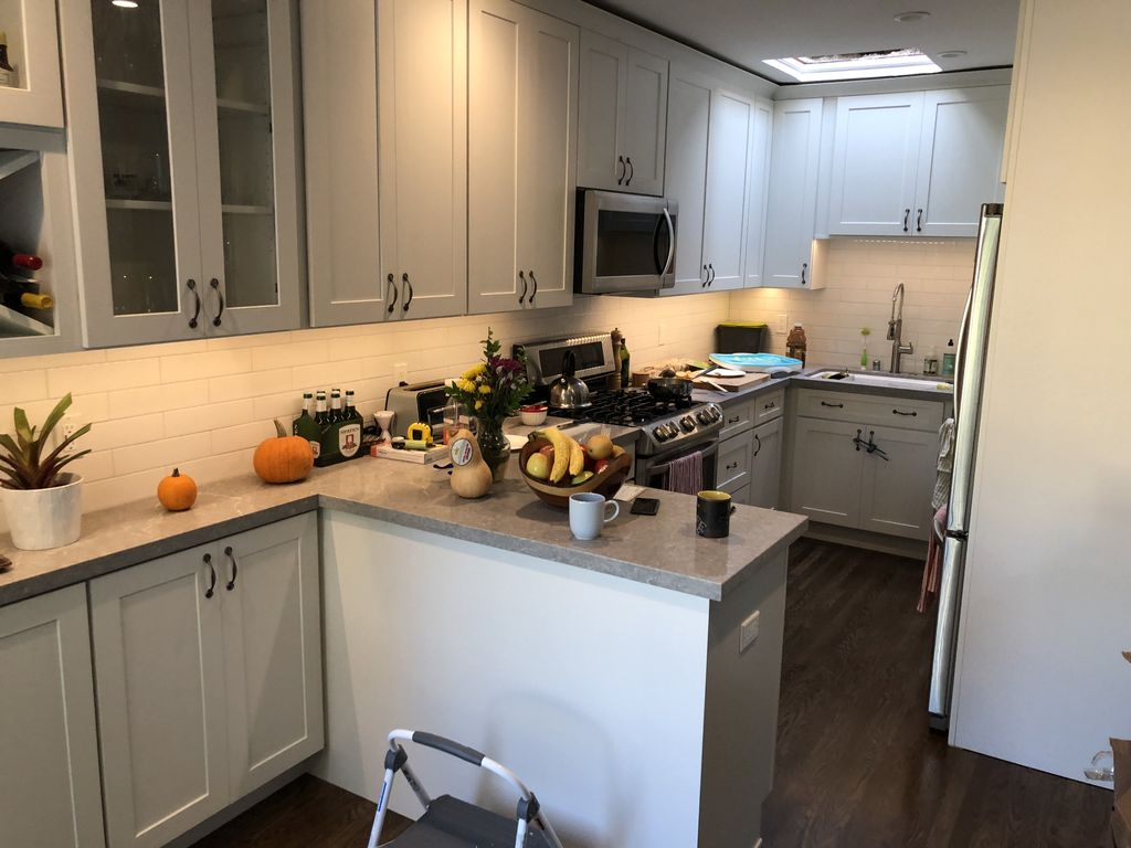 Full kitchen remodeling with some structural work