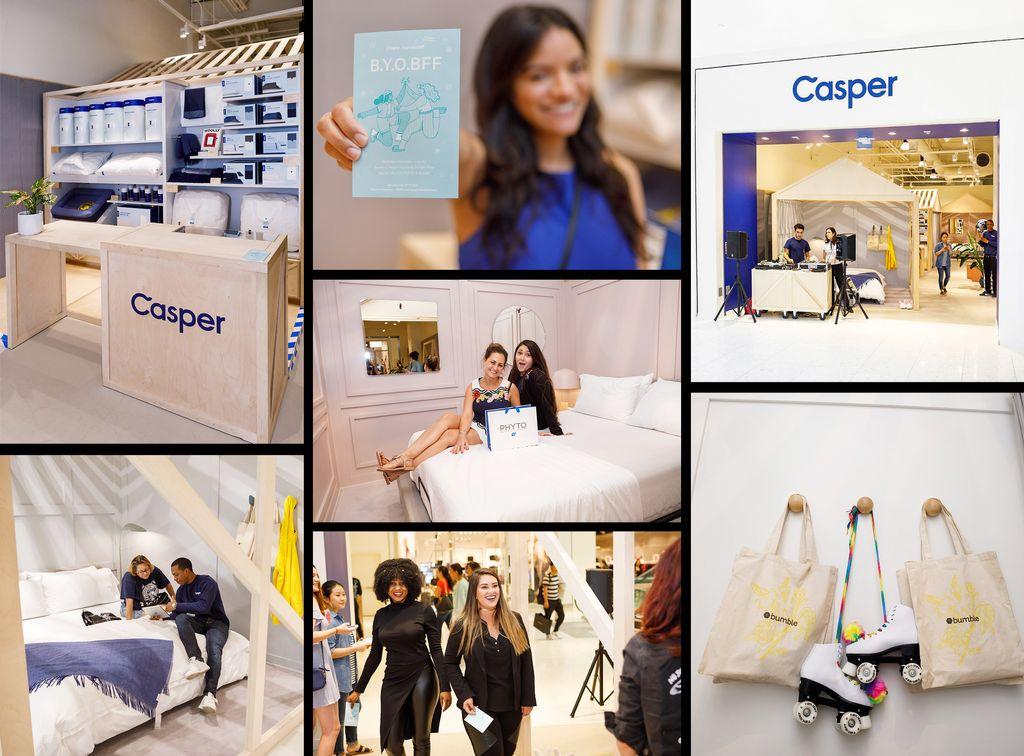 Casper Mattress Grand Opening - Aventura Mall