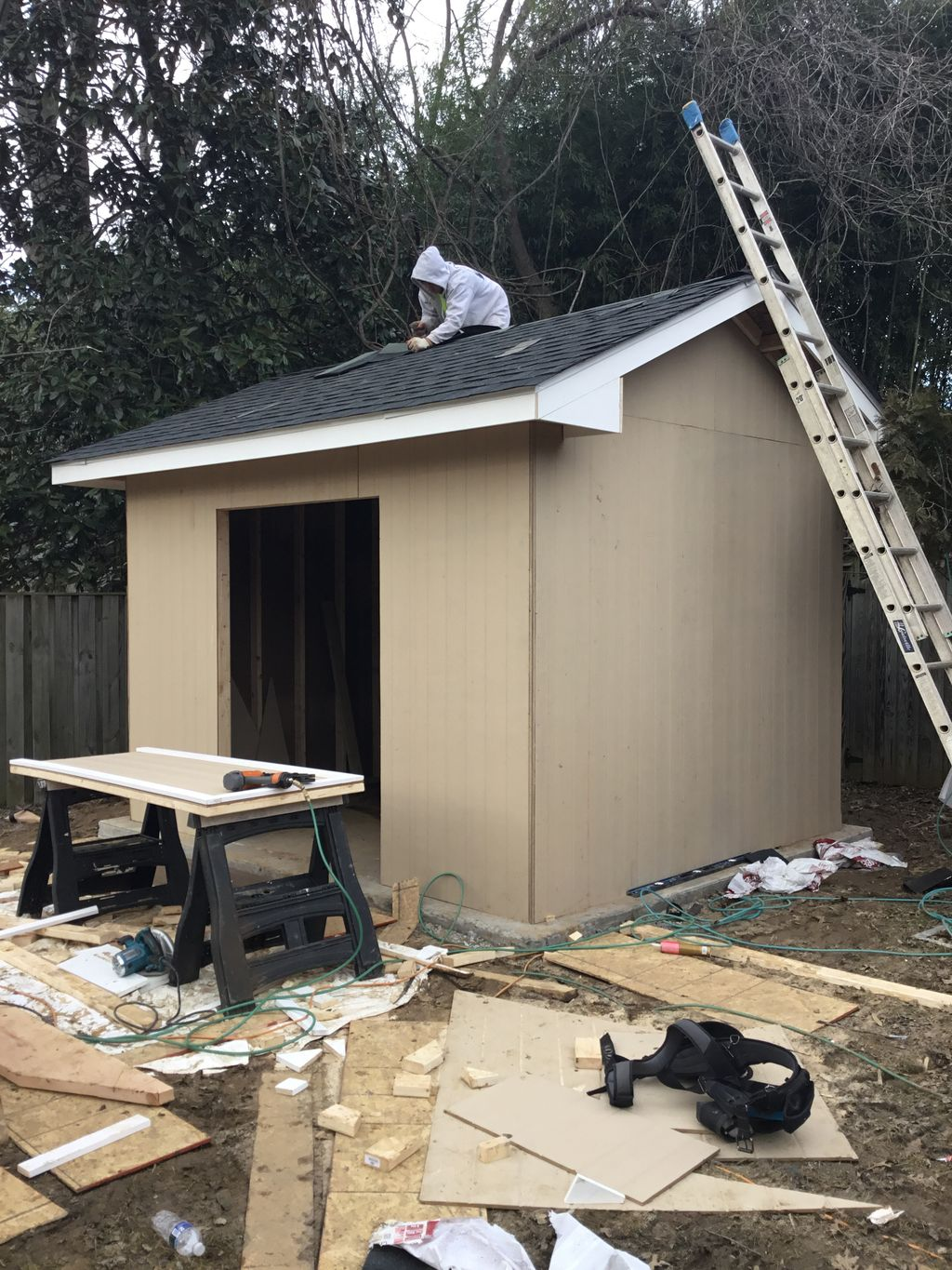 Exterior Shed 12x14