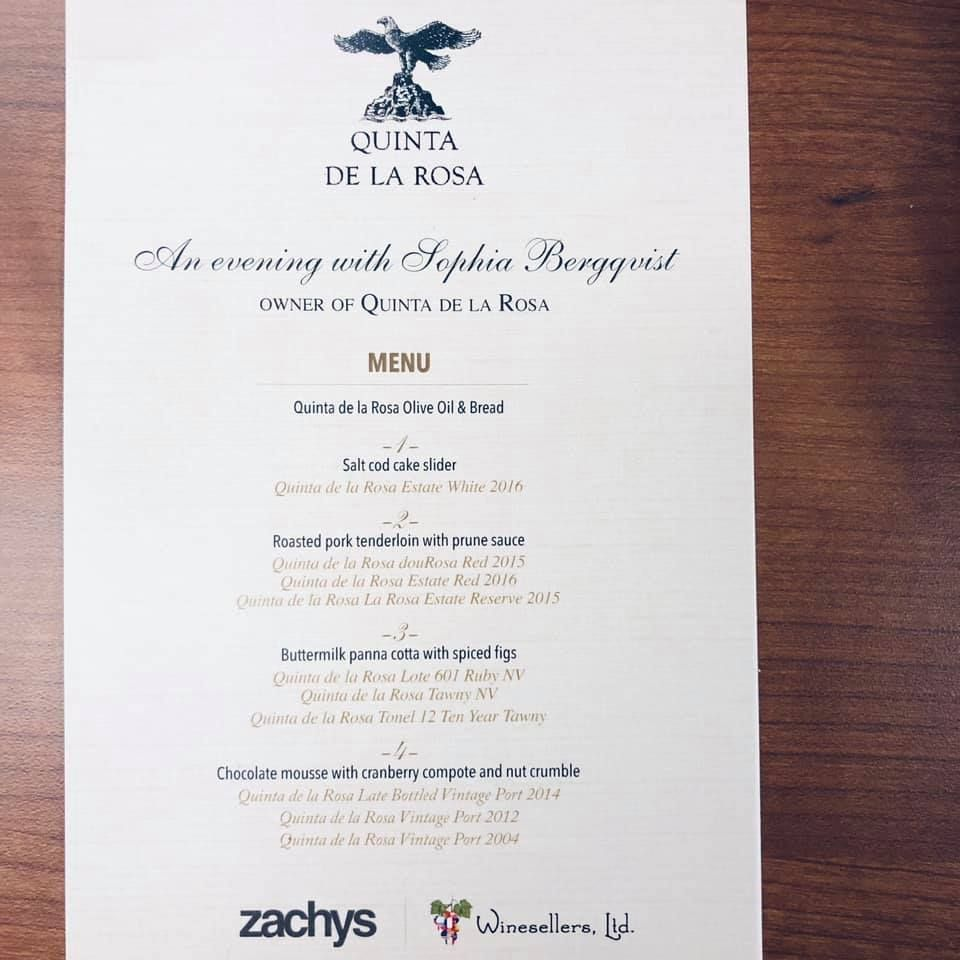 Wine Pairing Event at Zachy's