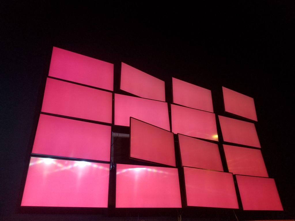 16 monitor video board