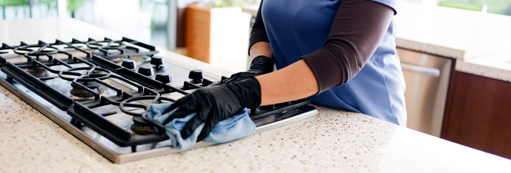 A house cleaner in Glendale, CA