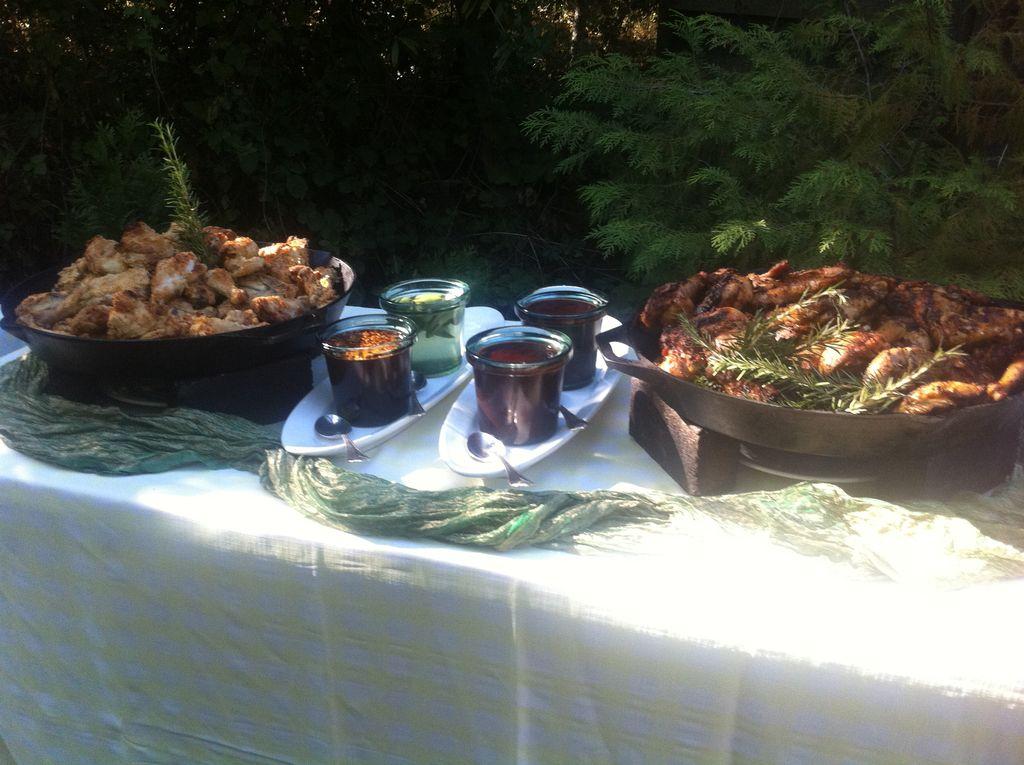 Farm2Table BBQ Wedding 120 Guests