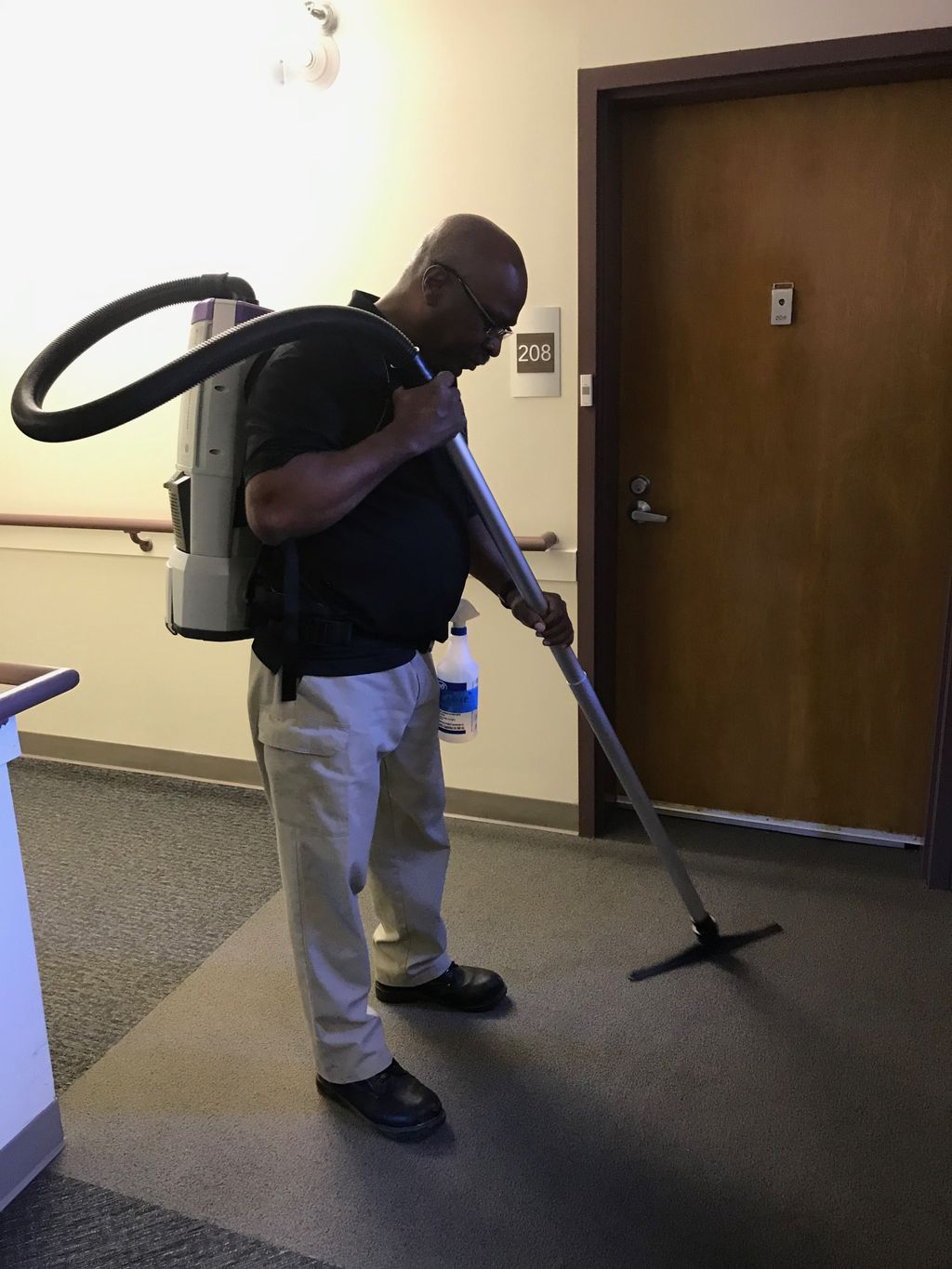 Commercial Carpet Cleaning Project